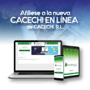 Noticia | ¡Afíliese a la nueva CACECHI EN LÍNEA! de CACECHI, R.L.