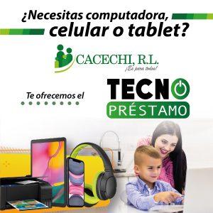 Promoción | ¿Necesitas computadora, celular o tablet?… ¡Solicita tu Tecno Préstamo!